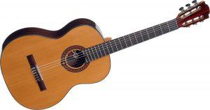 Guitare classique en cèdre