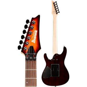 Guitare électrique avec manche en noyer