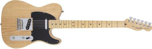 Guitare électrique avec manche et corps en érable