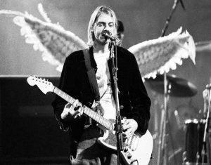 Kurt Cobain Guitare électrique pour gaucher