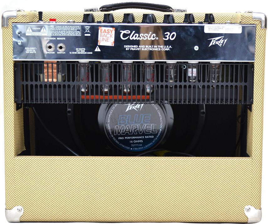 Ampli guitare lampes