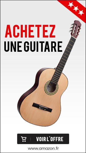 acheter une guitare