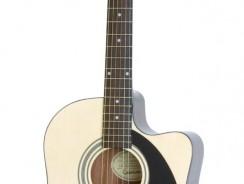 Test Epiphone AJ-100CE – Guitare folk électro-acoustique